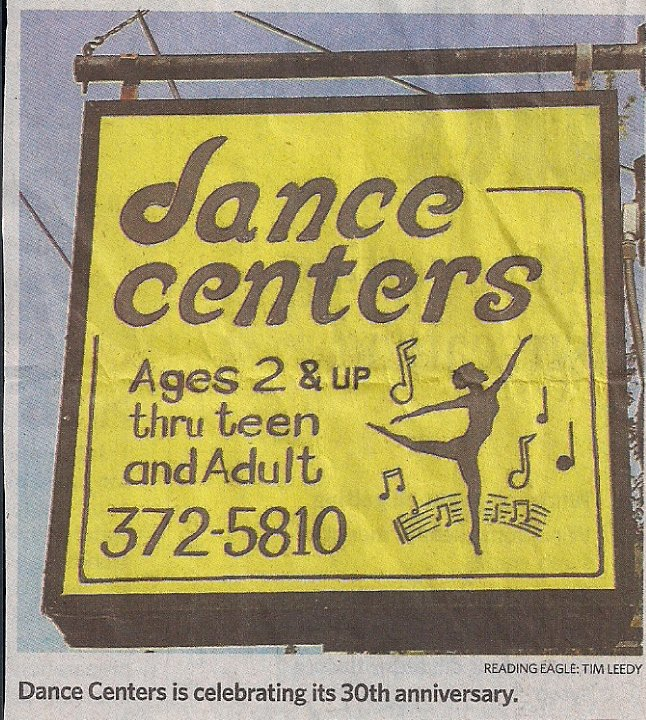 Dance Centers, 2237 Howard Blvd. , Reading, PA, 19606